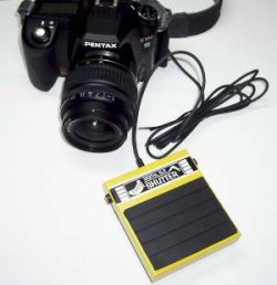 画像1: No.56 一眼レフ用フットペダルシャッター装置(SONY αシリーズのマルチUSB端子用)